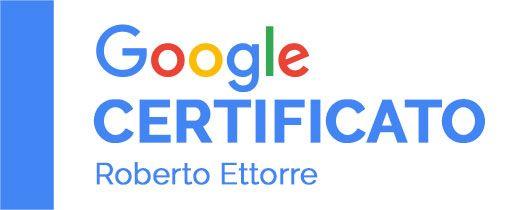roberto ettorre certificato google